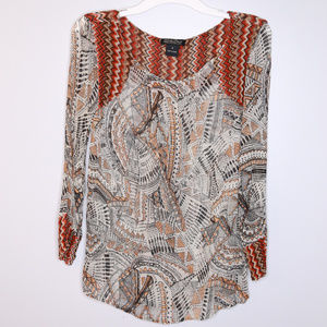 Lucky Brand Size S Summer Top